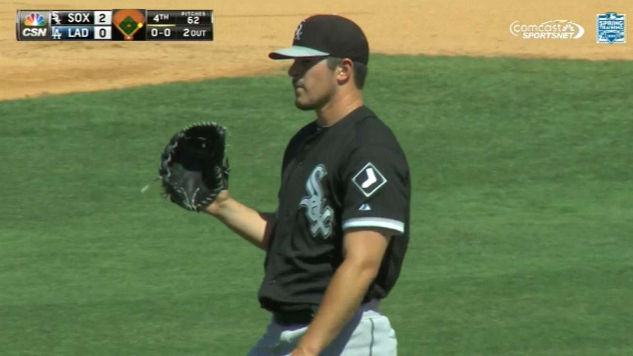 Rodon: Spring big for comfort level facing big leaguers