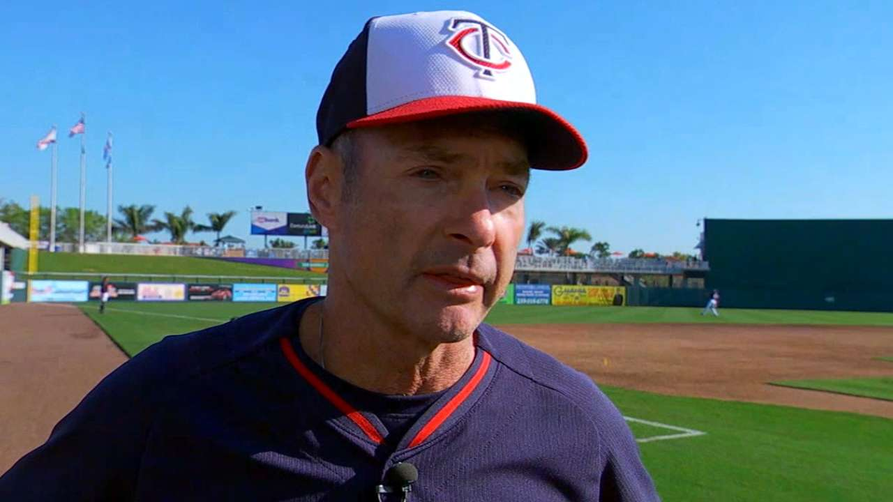 Molitor rolling out regular lineup on Opening Day