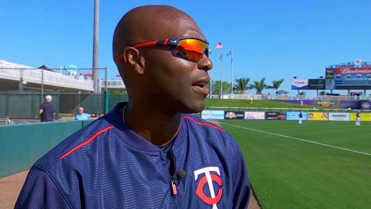 Torii glad to be back with Twins