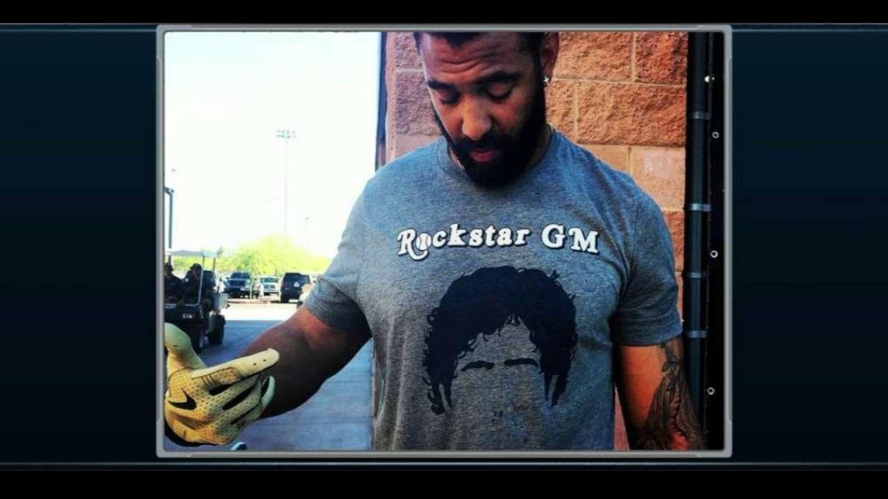 Kemp wears Preller shirt