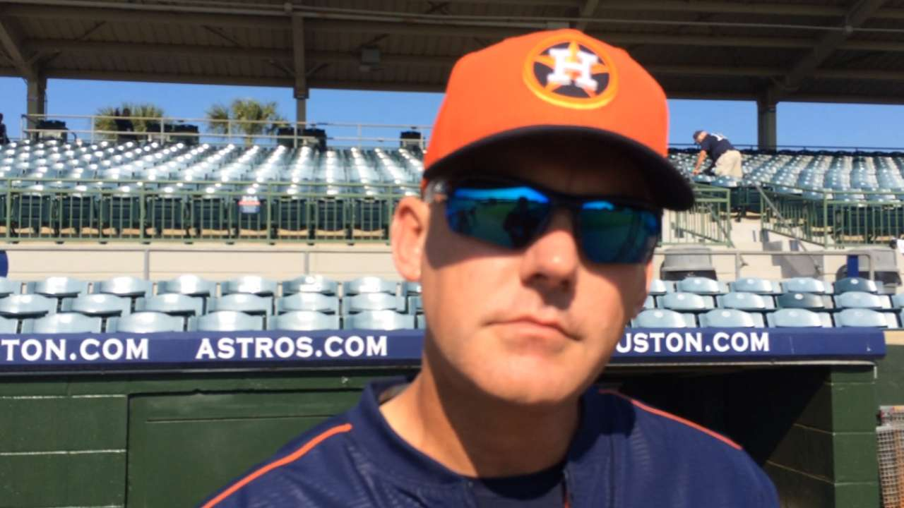 Hinch on Astros' expectations