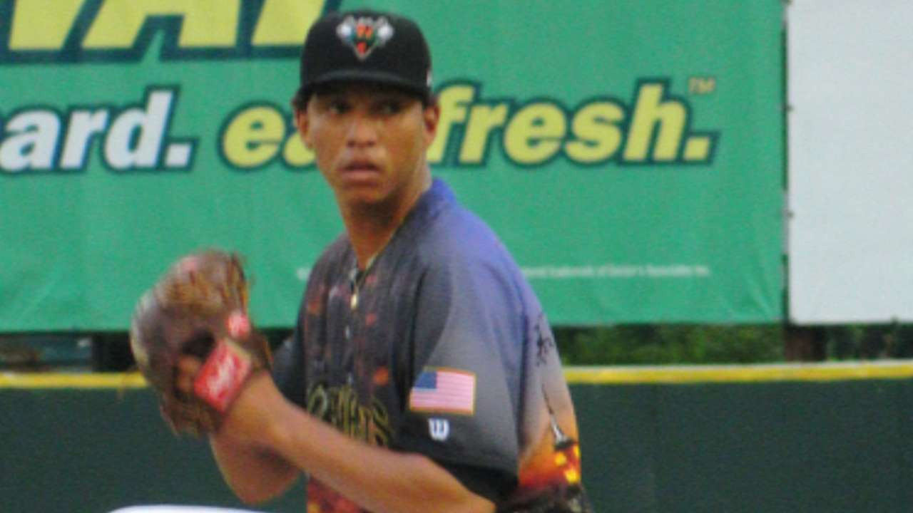 Top Prospects: Gregorio, SF