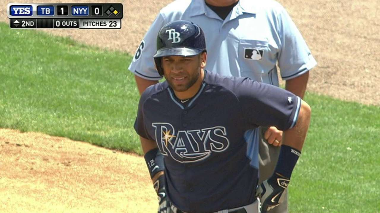 Loney, Jennings combine for five hits in shutout of Yanks