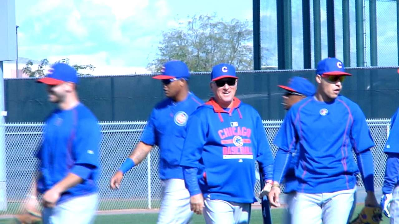 In Windy City, it's now a Maddon world
