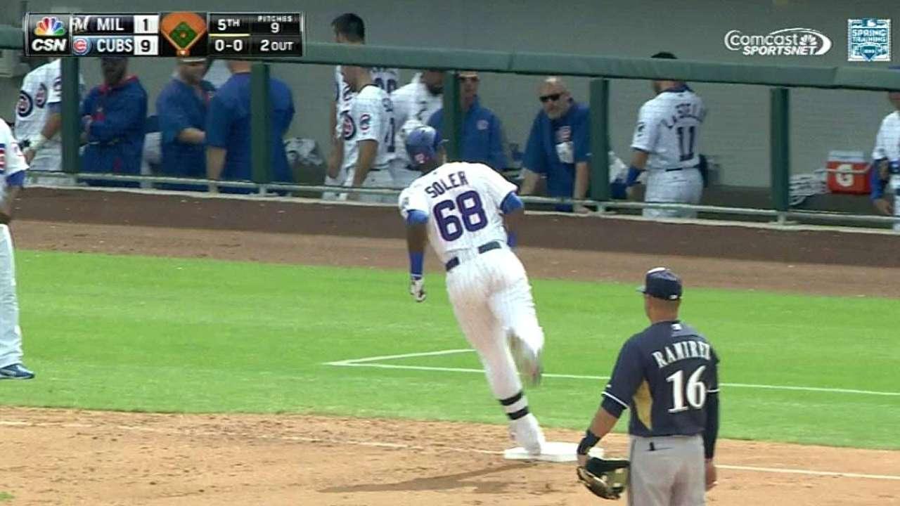 Soler's two-run home run