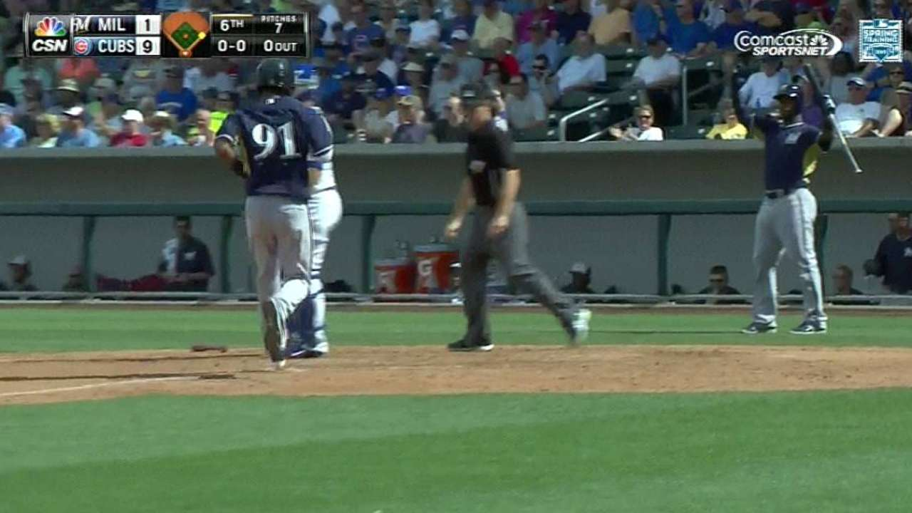 Lohse allows three of Cubs' 4 HRs