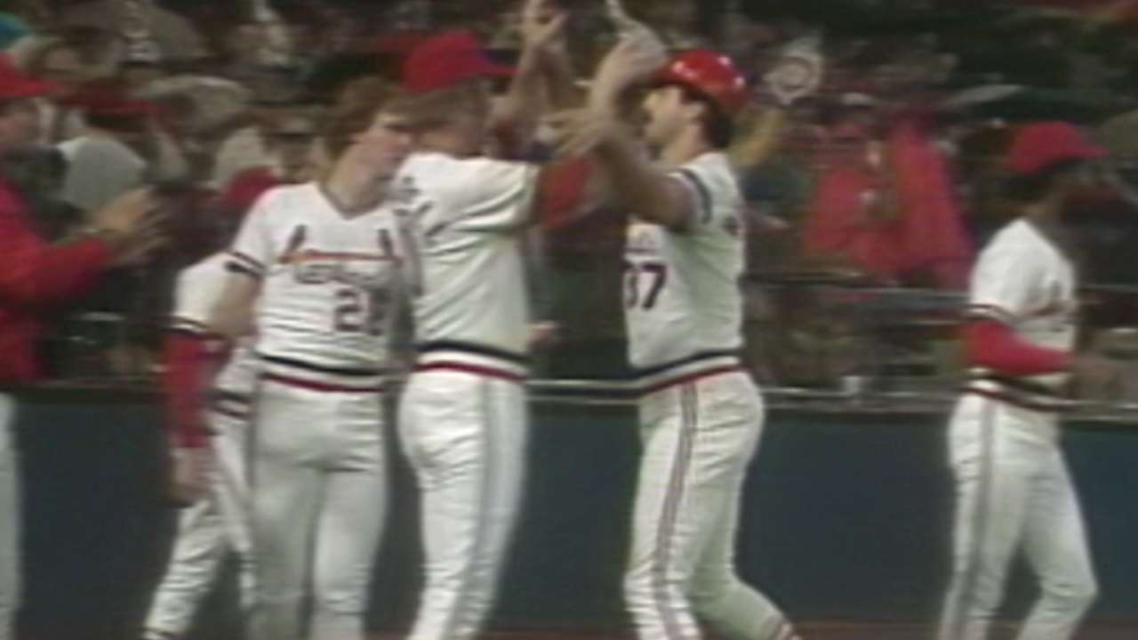 Hernandez was vital to Cardinals' 1982 World Series title