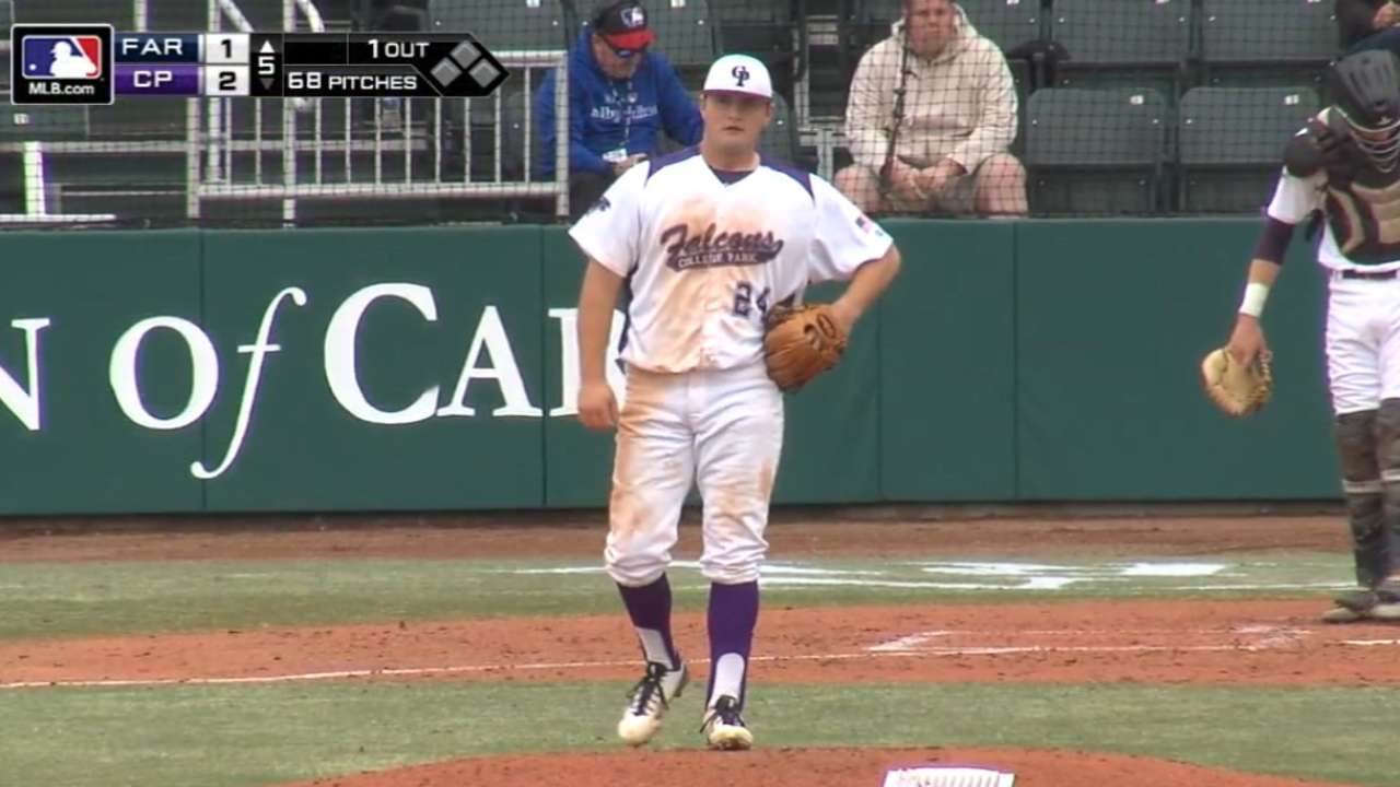 DeMers strikes out six