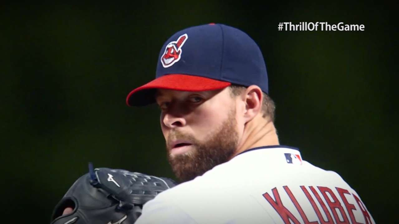 Thrill of the Game: Kluber