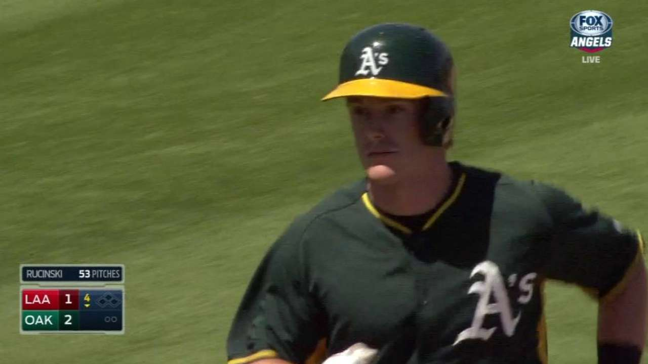 Canha's pinch-hit homer