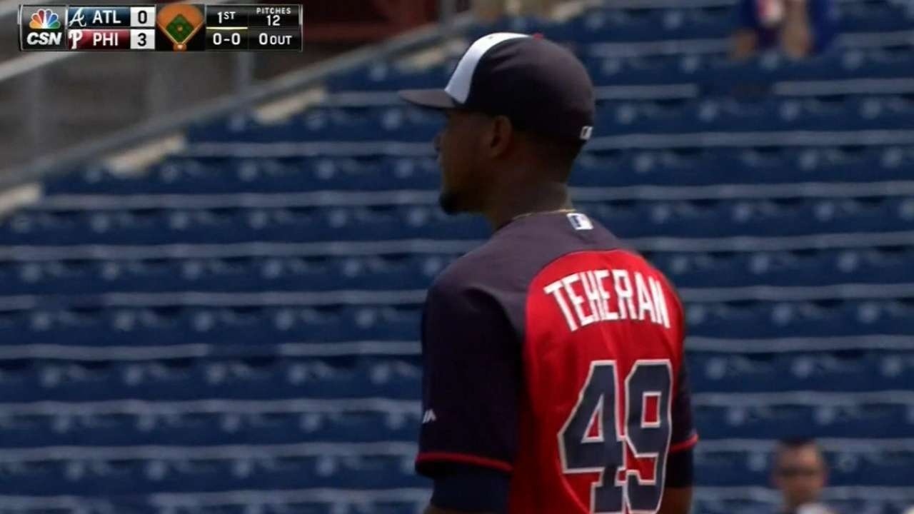After final spring outing, Teheran looks forward to Opening Day