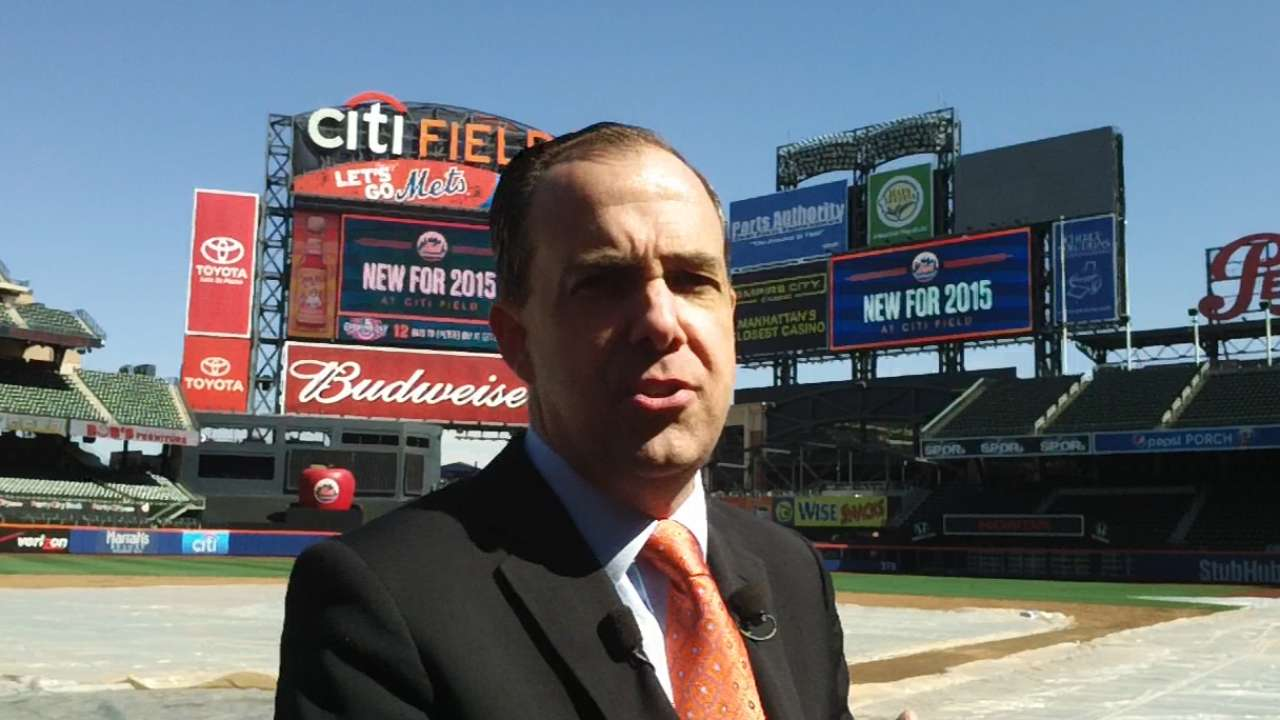 Mets highlight Citi Field changes for 2015