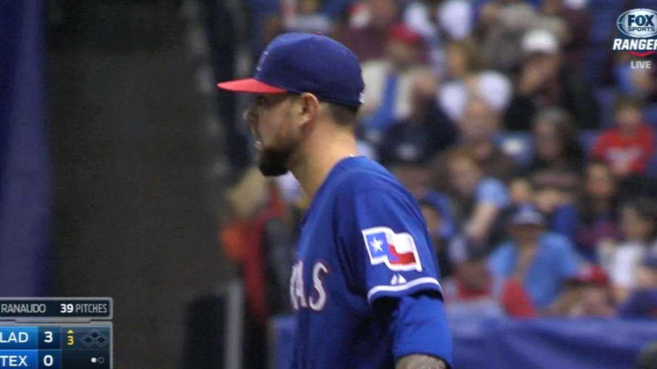 Rangers ask Ranaudo to fill Holland's spot, for now