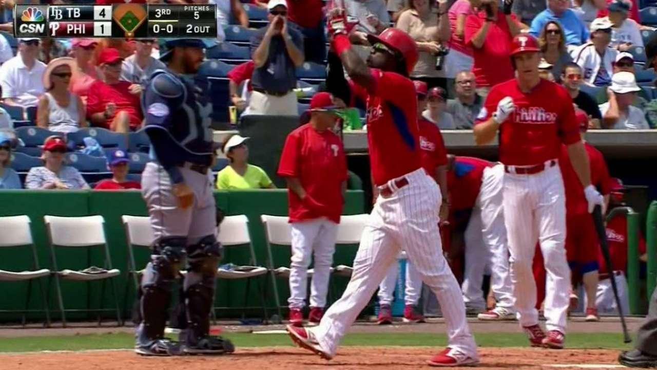 Herrera has big day in Phillies' Grapefruit finale