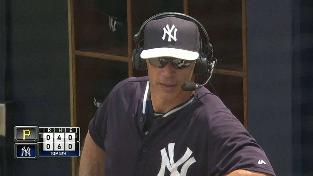 Girardi happy with Yanks' progress in camp