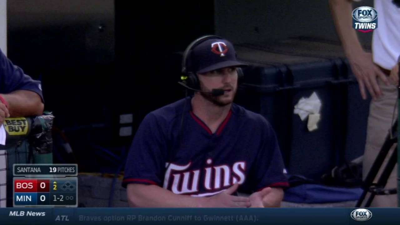 Robinson on Twins' opening roster