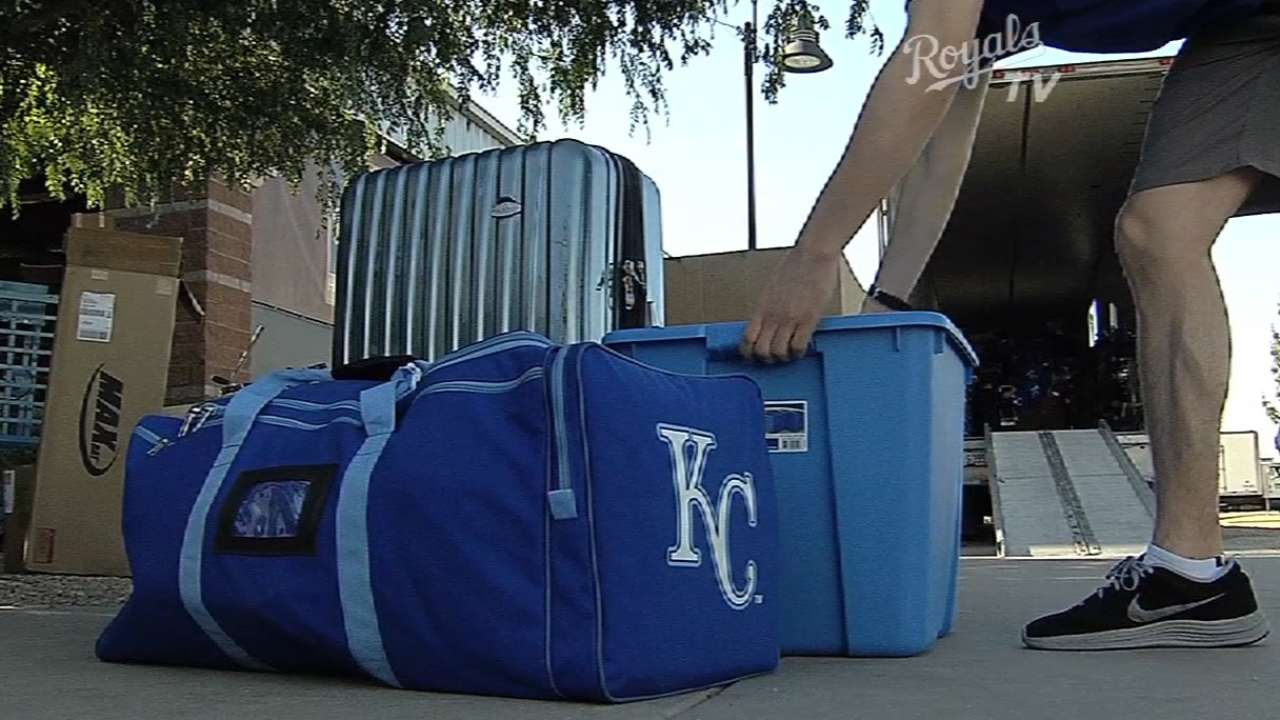 Royals load up the truck