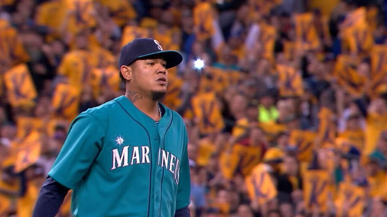 King's throne: Felix happy to be home on Opening Day