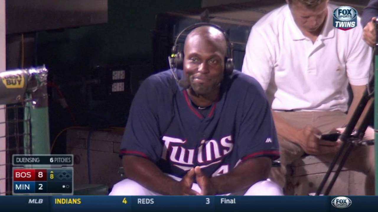 In Twins homecoming, Torii faces former club