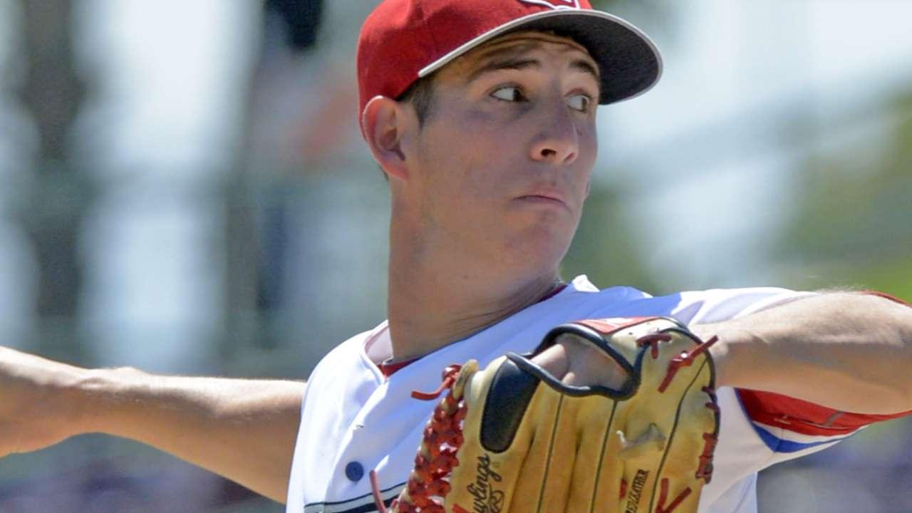 Top Prospects: Reynolds, LAA