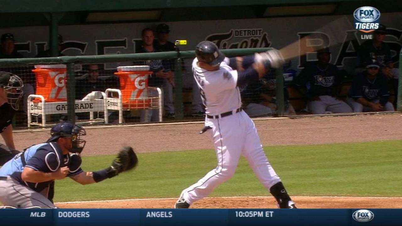 Miggy, Guyer swing hot bats as Rays rout Tigers