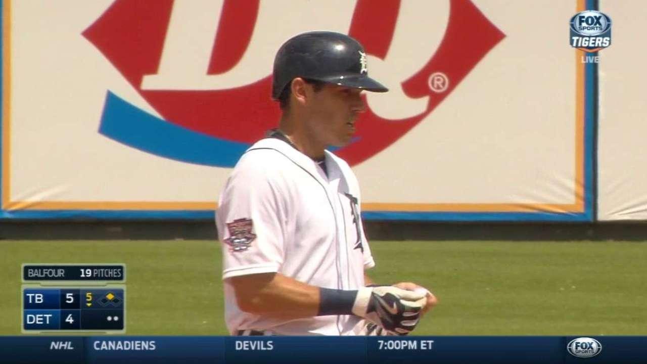 Kinsler's RBI double