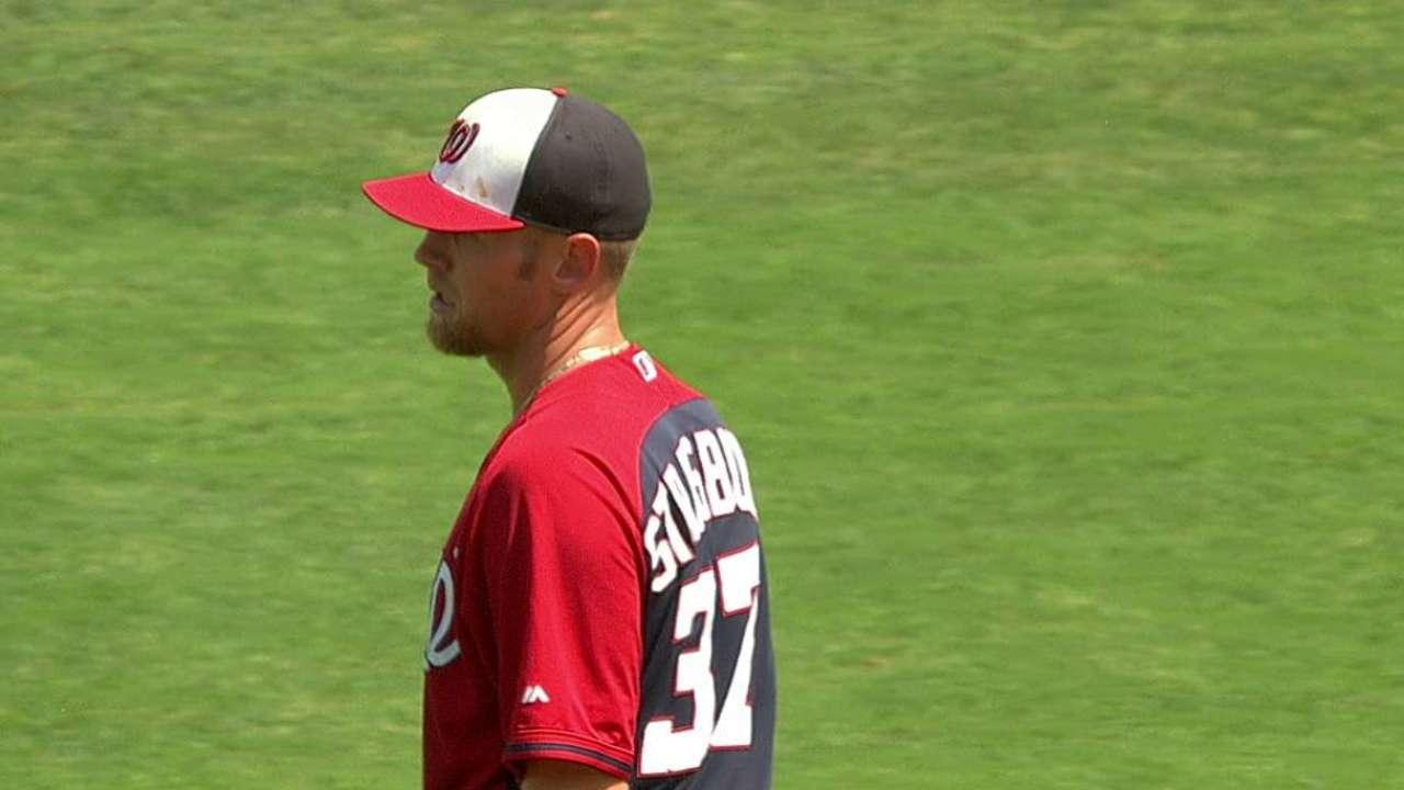 Strasburg's sixth strikeout
