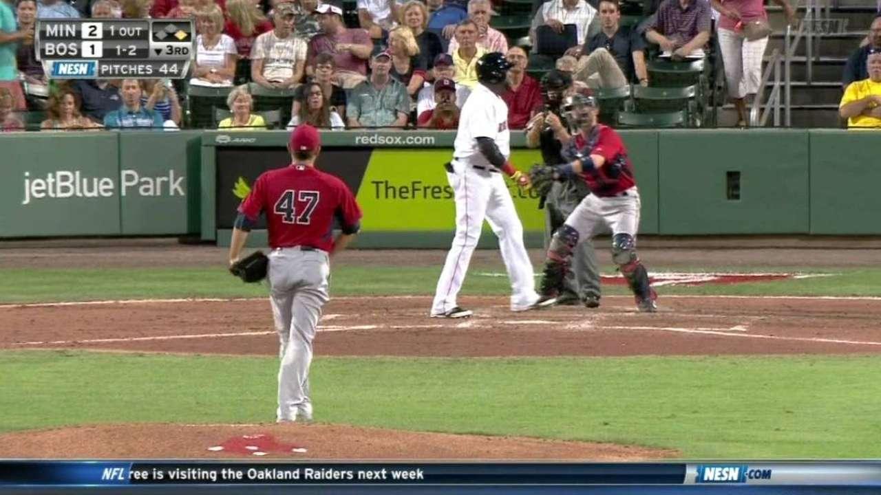 Escobar's bat supports Nolasco as Twins beat Red Sox