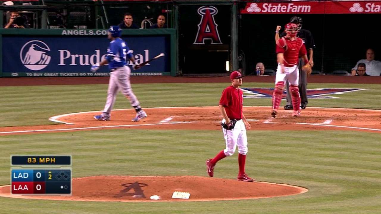 Heaney strikes out Uribe