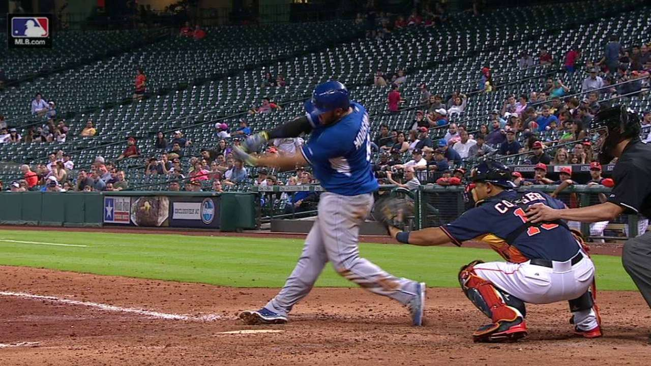 Moustakas looks for big season batting from two hole
