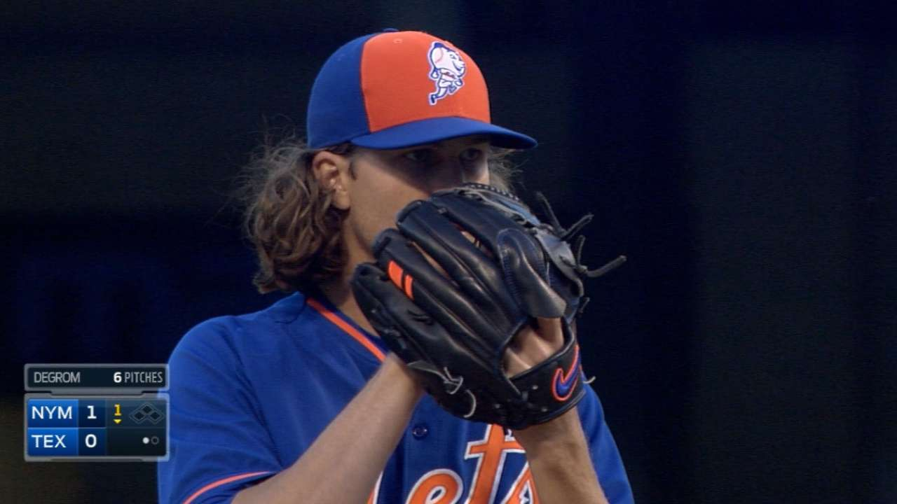Studious deGrom ready to take ball for Mets