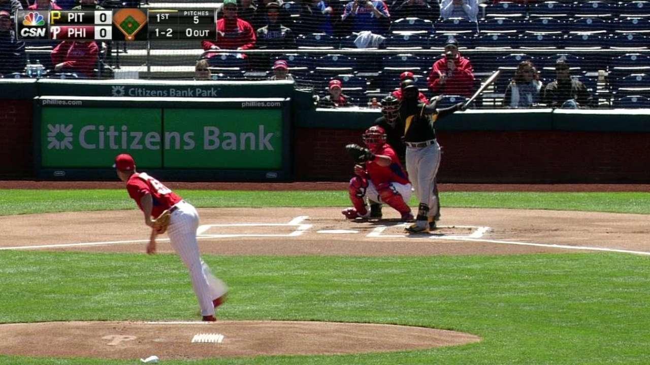 Buchanan's first strikeout