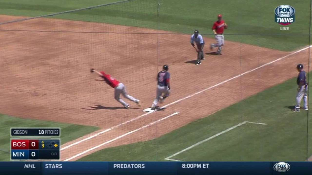 Gibson induces double play