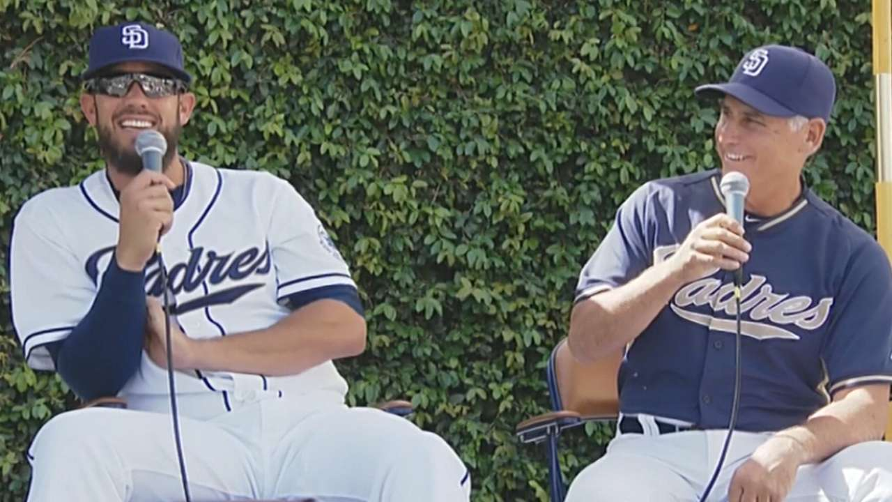 New players, video board excite record crowd at FanFest