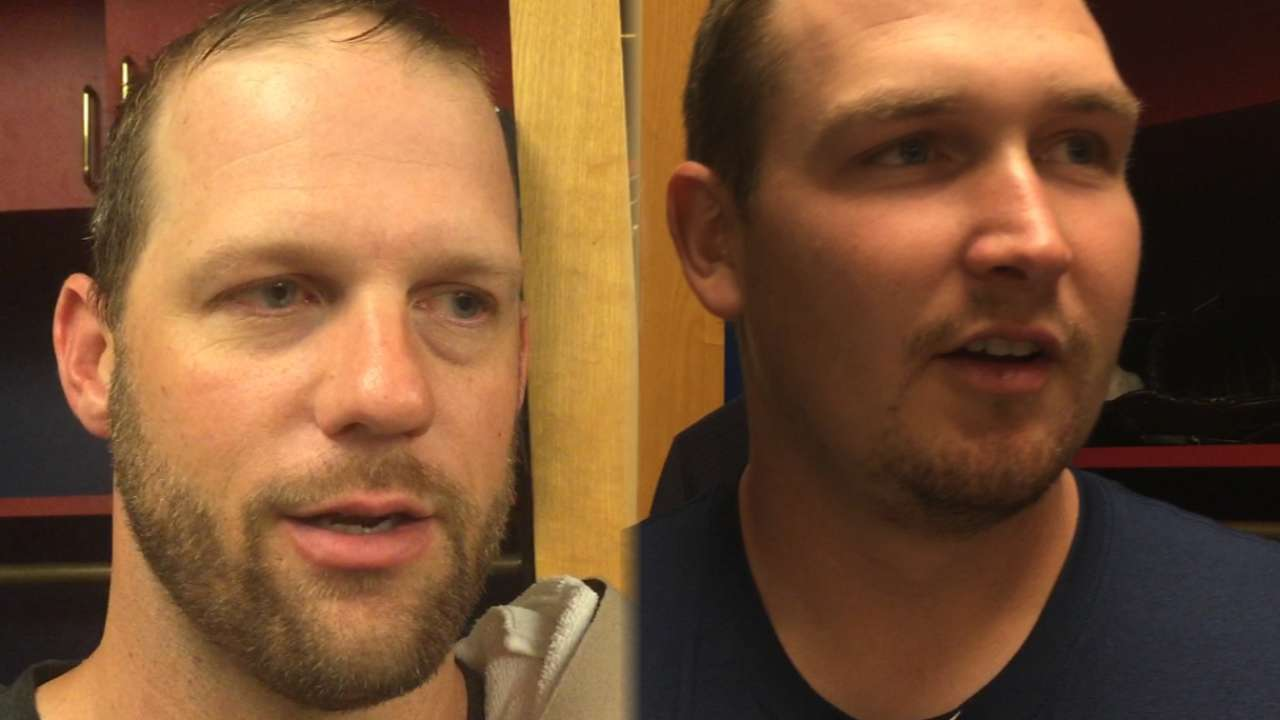 At 35, Stults grateful to be on just his fourth Opening Day roster