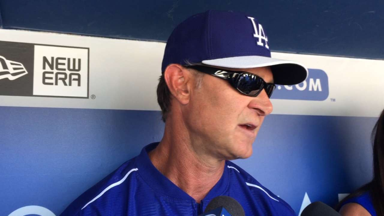 Pederson earns spot as Dodgers set 25-man roster