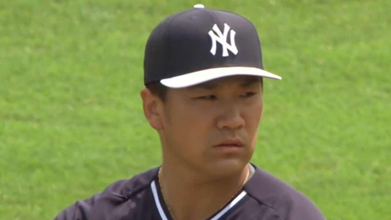 MLB Tonight: Tanaka's velocity