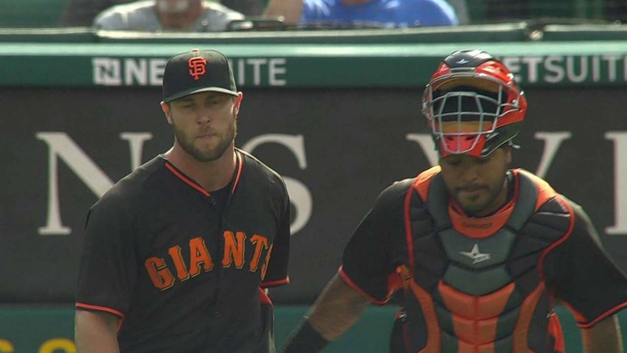 Strickland to join Giants for doubleheader