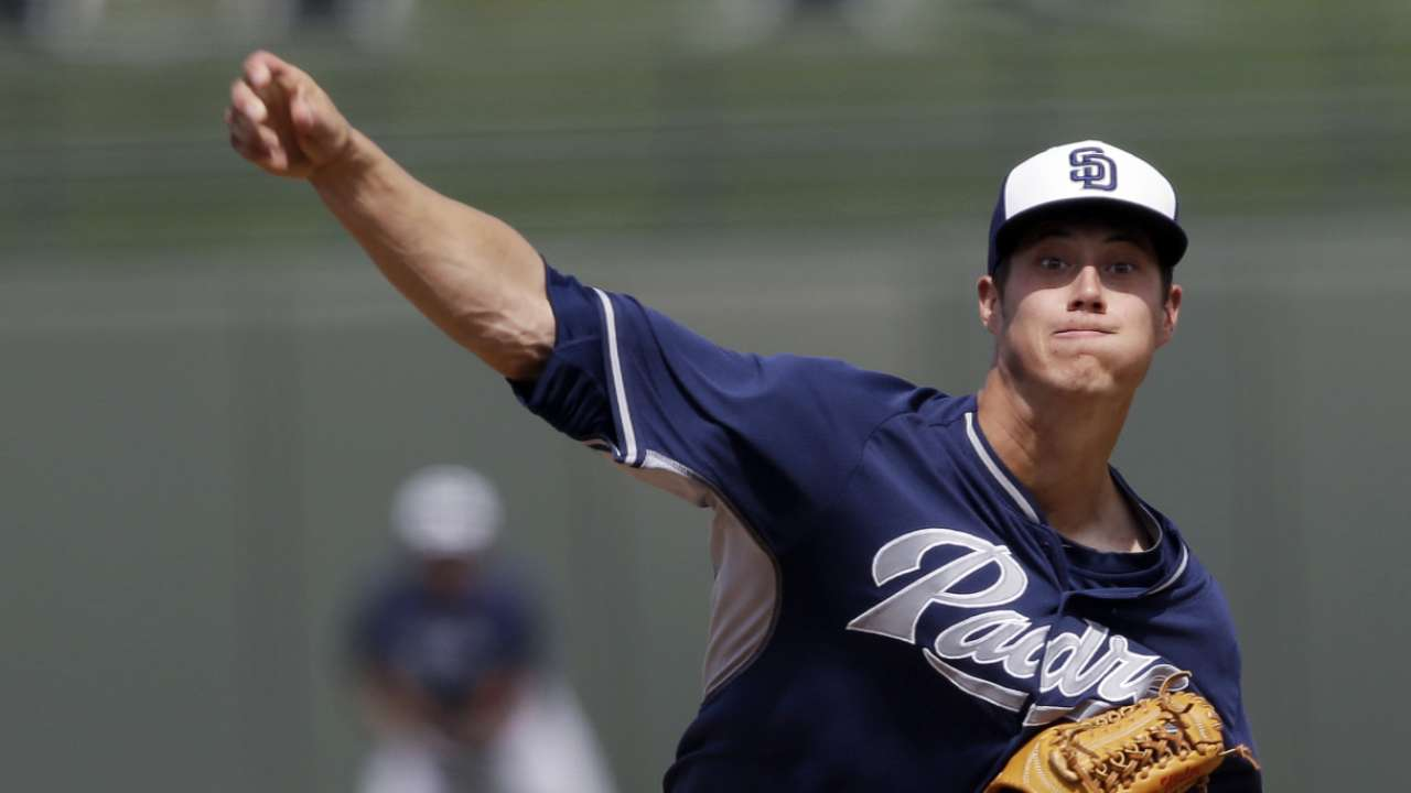 Braves restock with top prospects from Padres