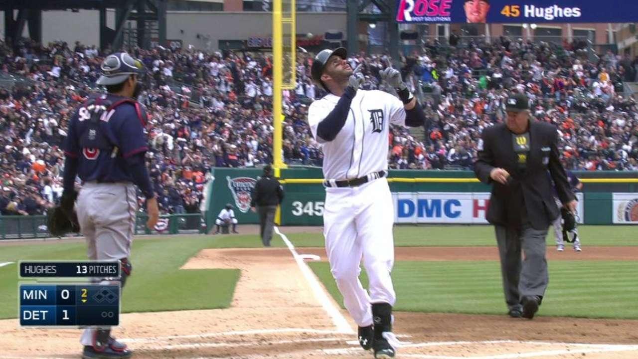 J.D. Martinez's solo home run