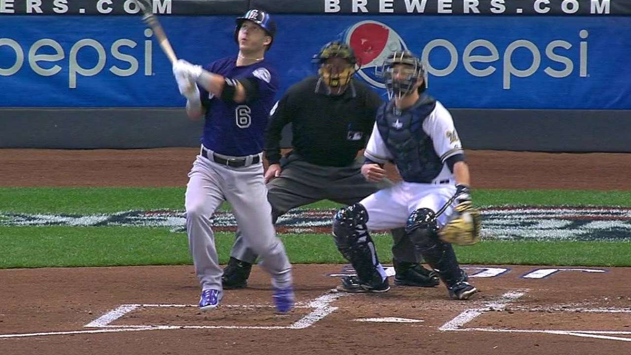 Middle of order brings out heavy lumber for Rockies