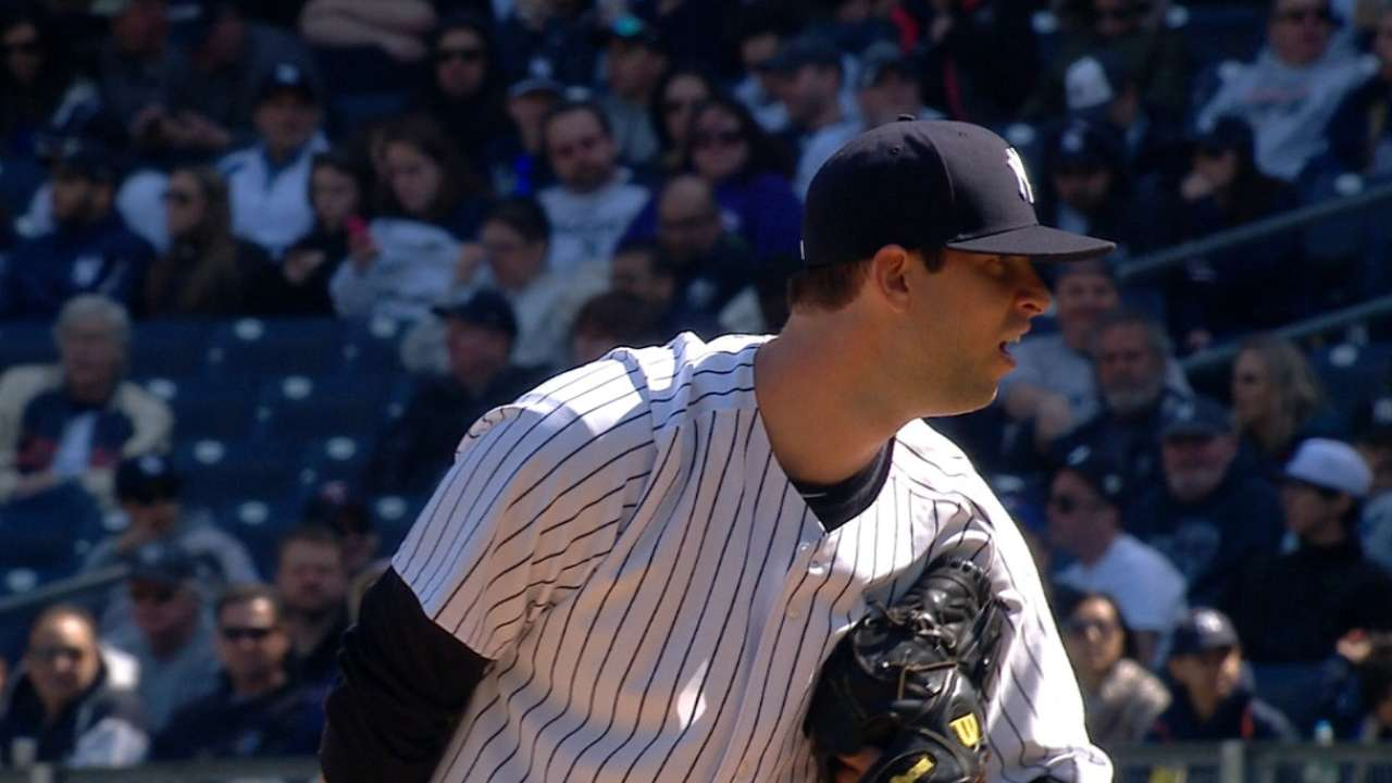 Yankees' bullpen steps up in relief of Tanaka