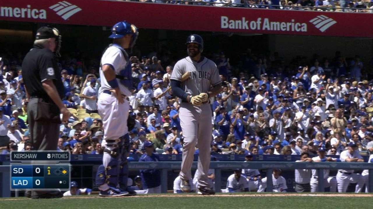Kemp feels love in 'overwhelming' return to LA