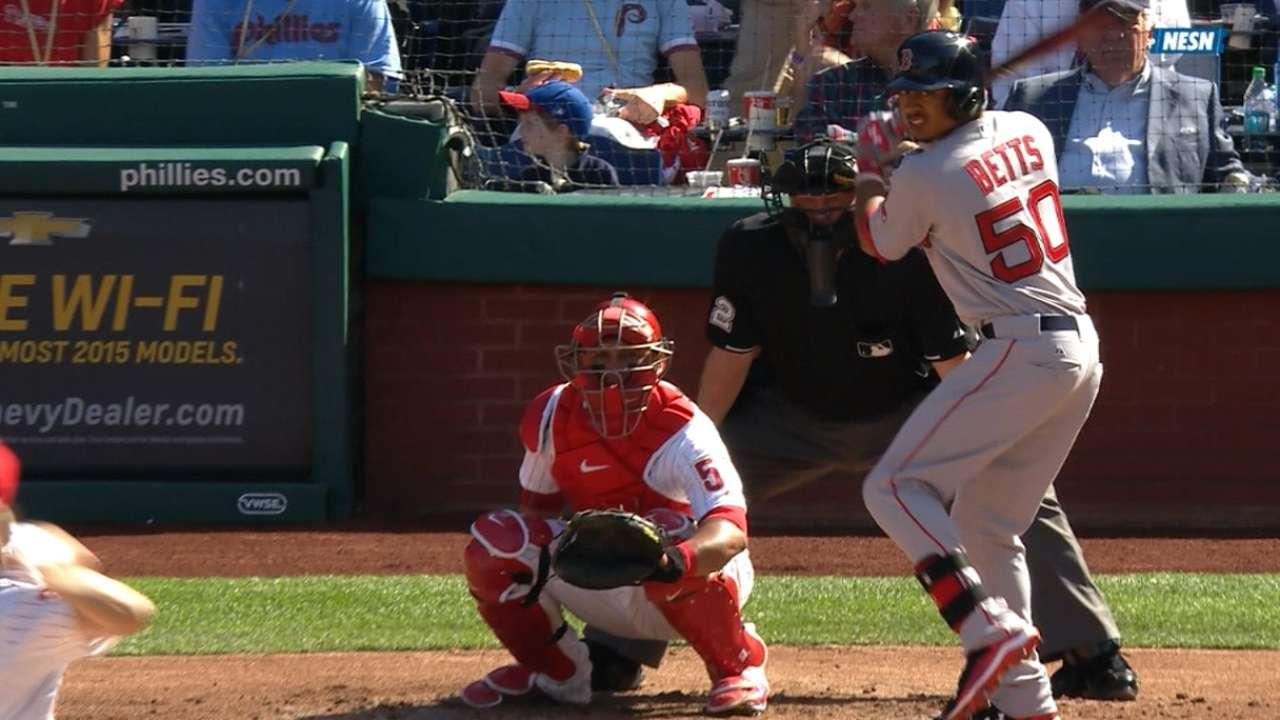 Red Sox's revamped lineup backs Buchholz's gem vs. Phillies