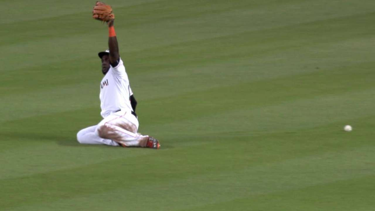 Young Jr. hustles for double