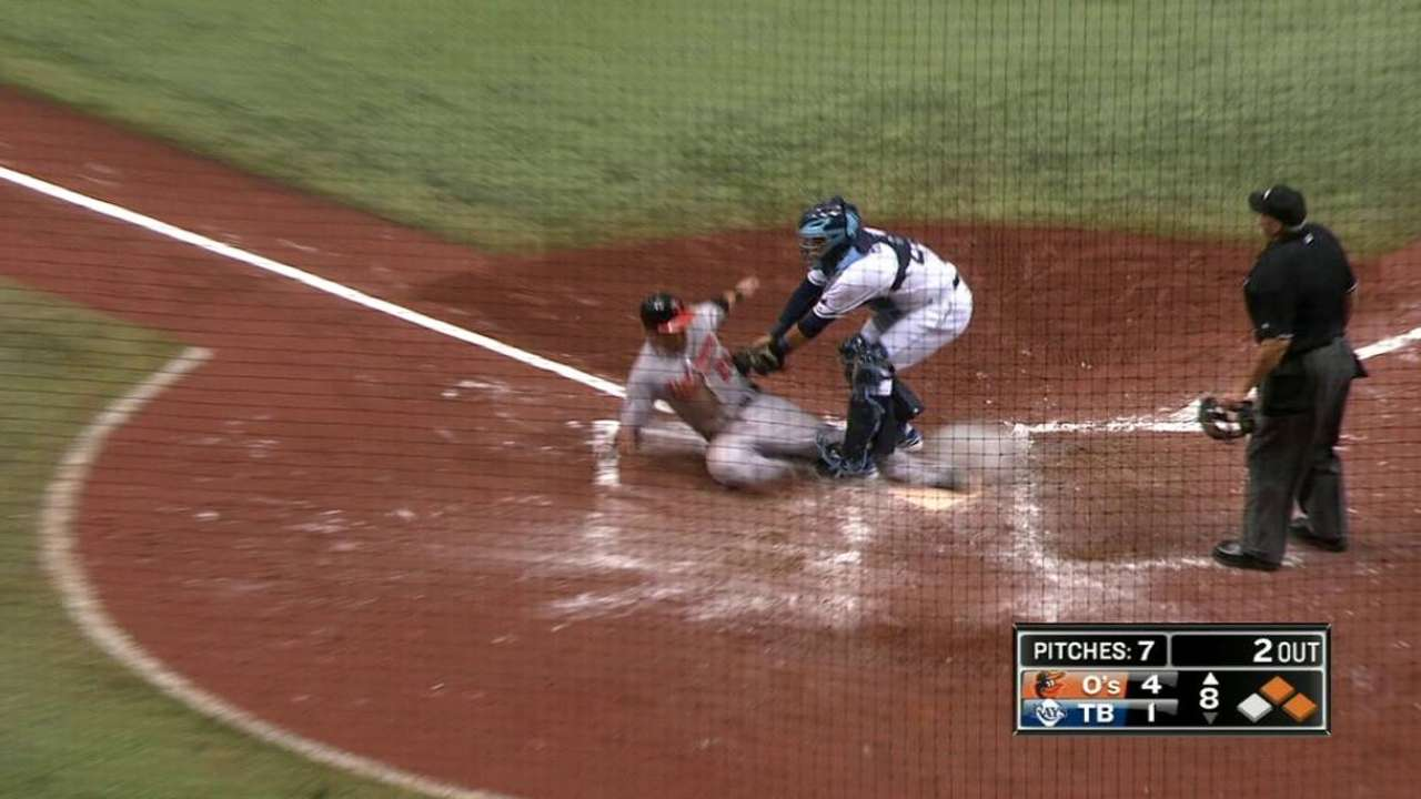 Cash to revisit strange play at plate with MLB