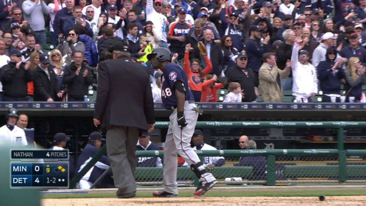 Torii upset with West's game-ending strike call