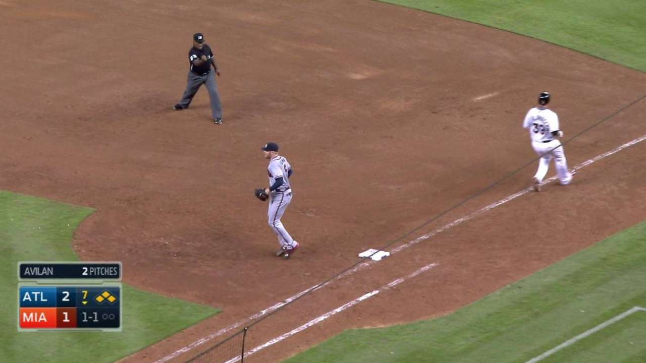 Braves turn two, escape jam