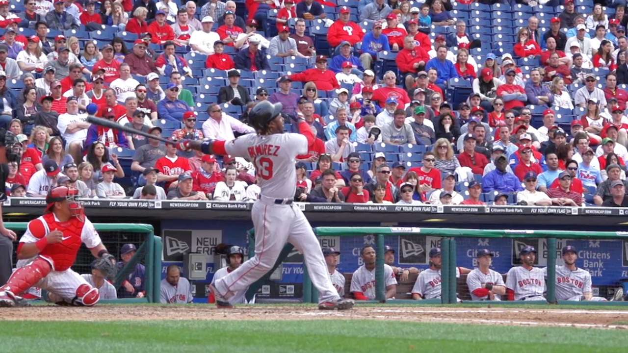 Red Opening Day 2015 Hanley's Grand Slam