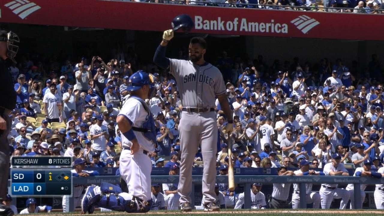 Kemp's Padres debut